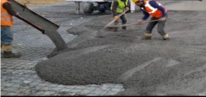 Сырье бетона укрытие бетонной смеси пленкой пвх и другими утеплителями